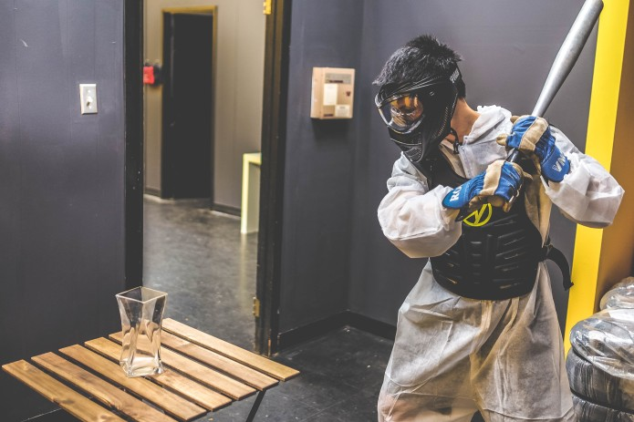 Toronto's new Rage Room is all