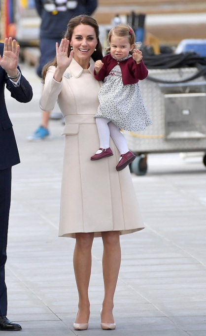 Kate Middleton's outfits on the royal tour of Canada