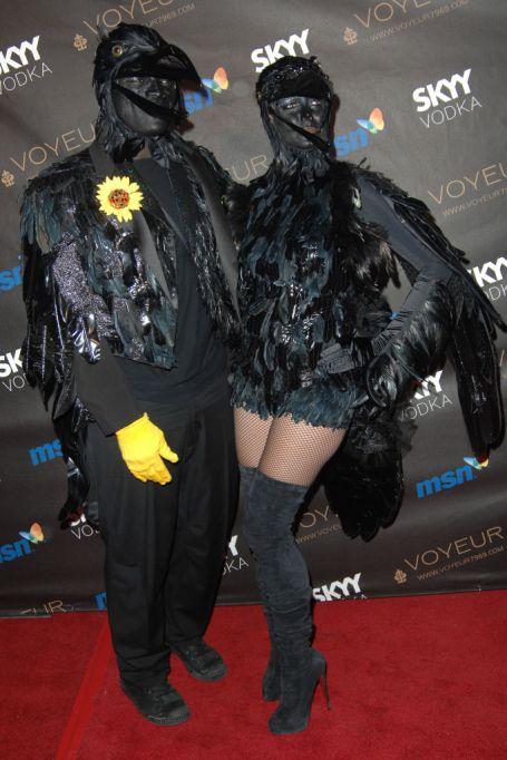 Heidi Klum's Halloween Costume: Raven