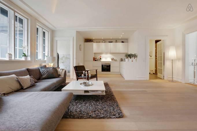 Last-Minute Valentine's Day Getaway on AirBnb: Luxurious Apartment in Copenhagen, Denmark