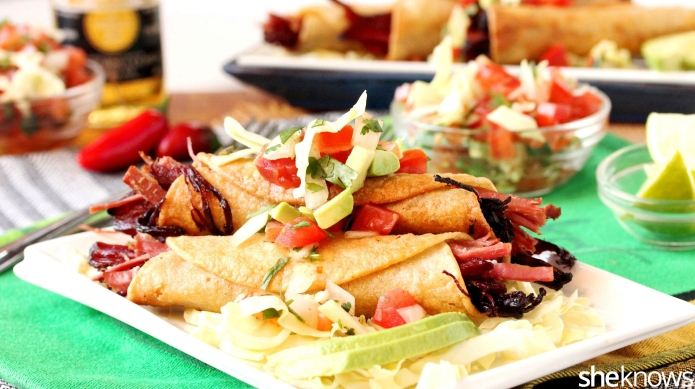 Corned beef taquitos are the best