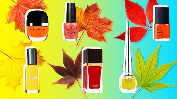 11 of the Prettiest Fall Nail
