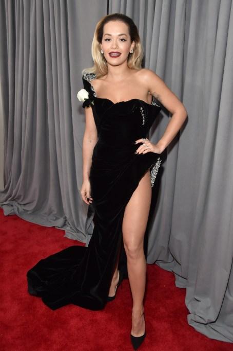 Grammys 2018 Best Dressed: Rita Ora