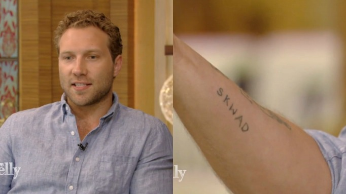 Jai Courtney tattoo
