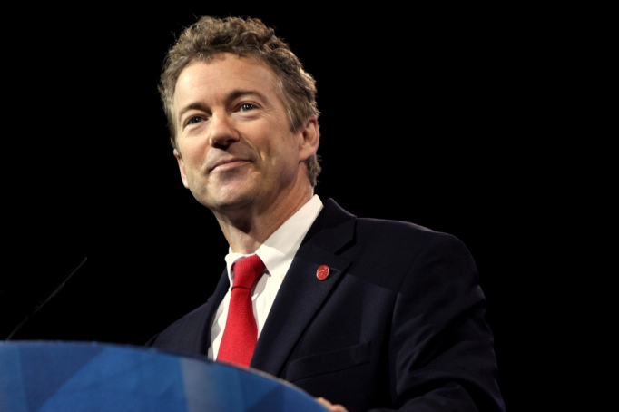 Senator Rand Paul of Kentucky speaking at the 2013 (CPAC in National Harbor, Maryland.