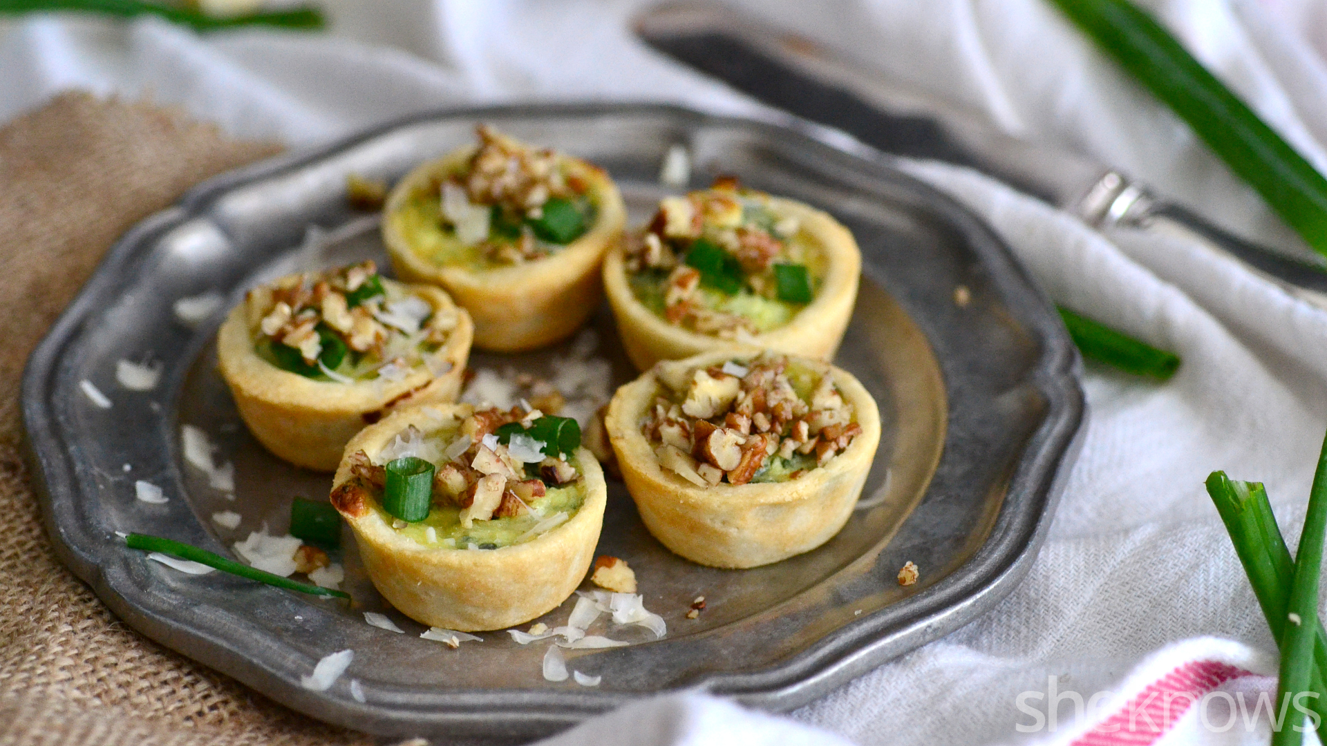 cheesy mini quiche easy make ahead appetizers