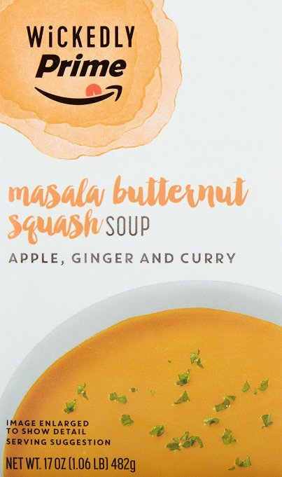 Wickedly Prime Masala Butternut Squash Soup