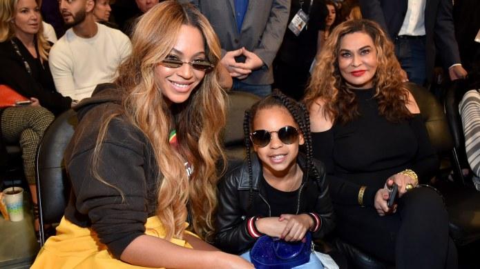 Beyoncé, Blue Ivy & Tina Knowles