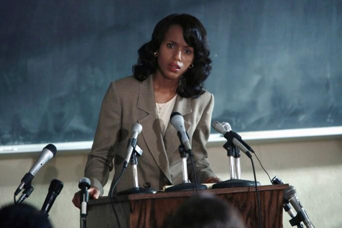 Kerry Washington as Anita Hill