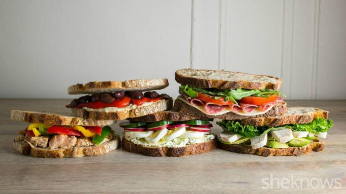 5 Gourmet work lunch sandwiches you