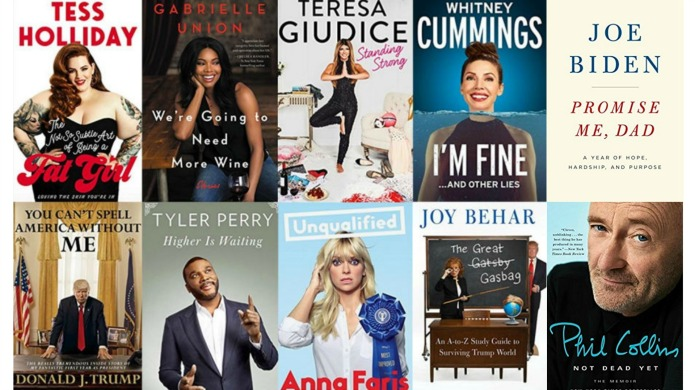 13 New Celebrity Books We Can't