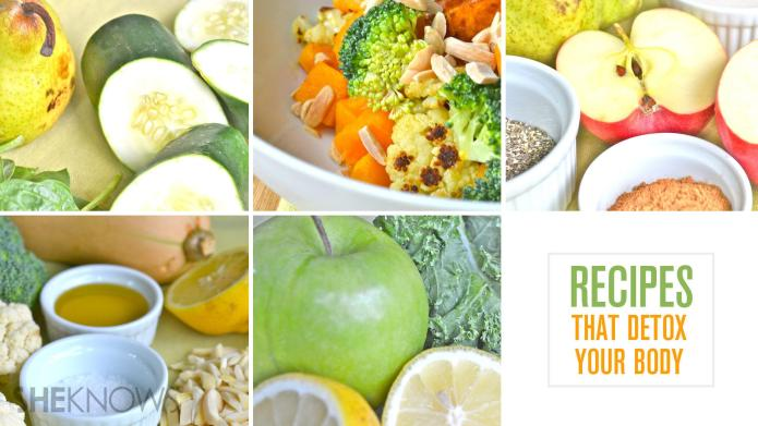Healthy recipes that detox your body