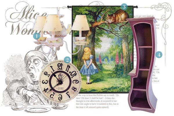 Alice In Wonderland Inspired Home Décor