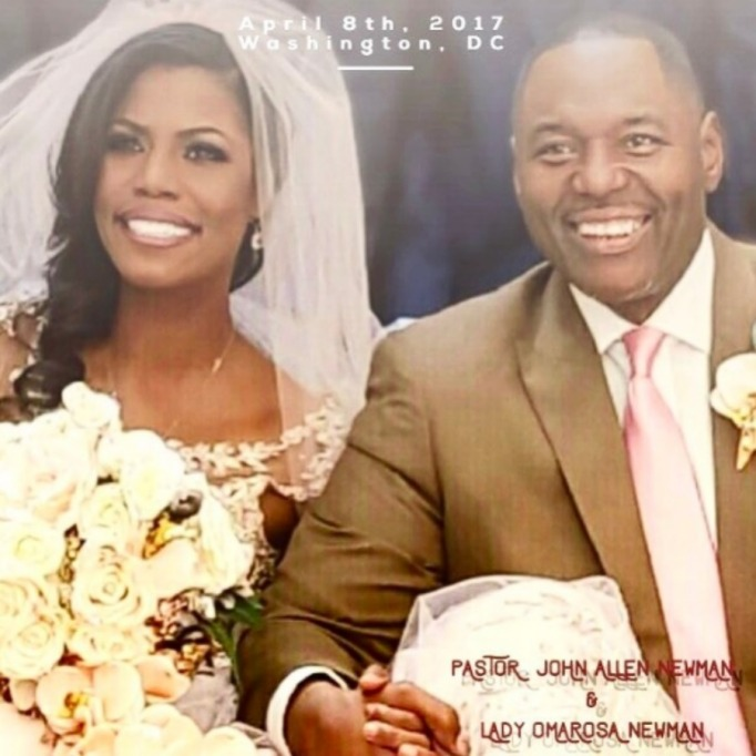 Celebrities who got married in 2017: Omarosa Manigault & John Allen Newman