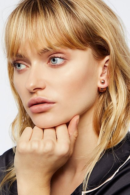 Gorgeous Jewelry Finds That Look Expensive: Double Sided Orbit Studs | Inexpensive Jewelry Trends