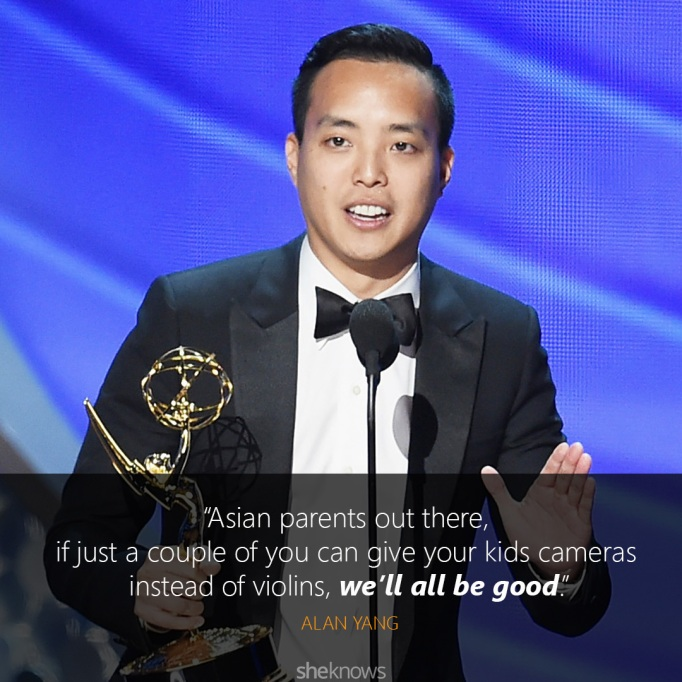 Alan Young Emmys quote