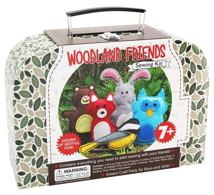 Woodland Friends Sewing Kit