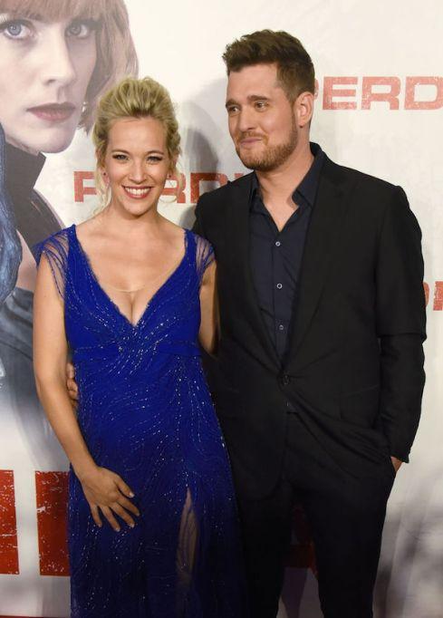 Celebrities having babies in 2018: Michael Buble and Luisana Lopilato