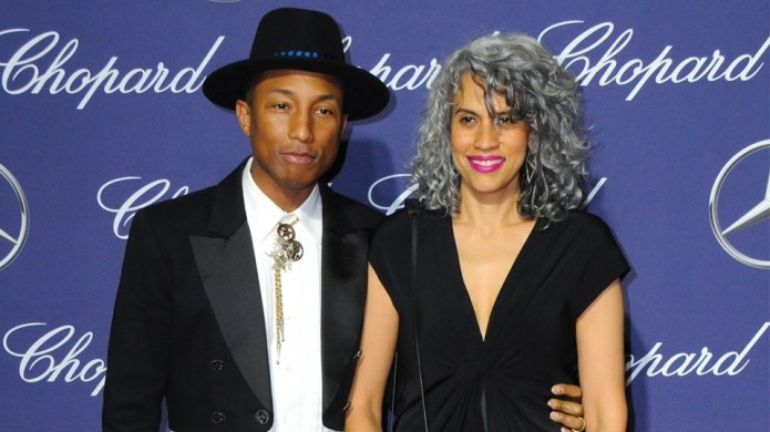 Pharrell and His Wife Had Triplets