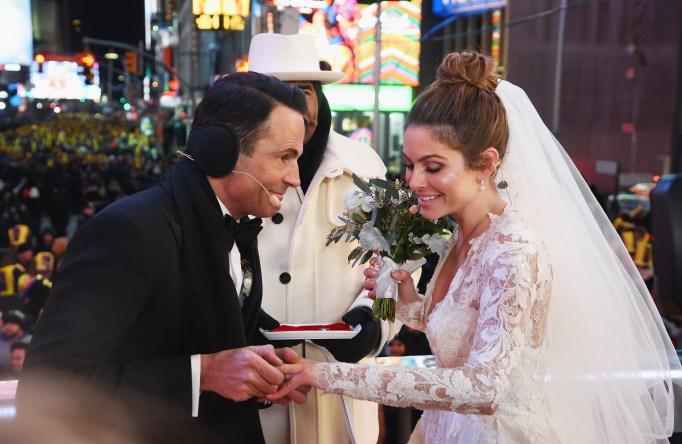Maria Menounos & Keven Underargo wedding