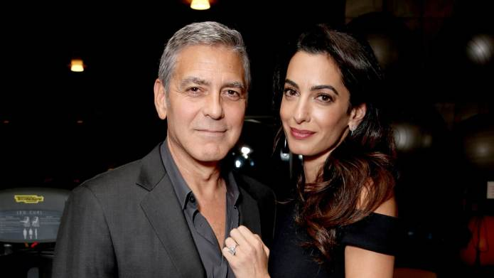 How George Clooney Celebrated Amal's 40th