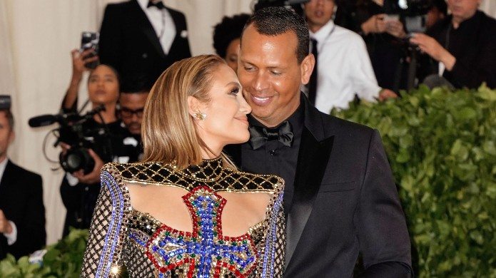 Jennifer Lopez and Alex Rodriguez attend