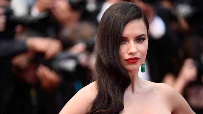 Adriana Lima's Weird Beauty Habit in