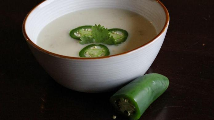 Cream of tequila soup