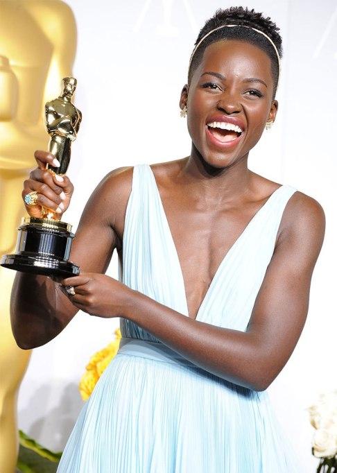 Lupita Nyong'o Afro