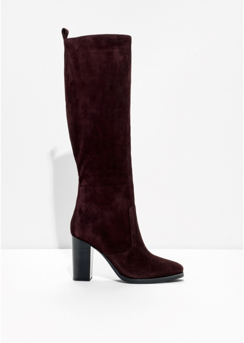 Fall Boots To Shop Before They Sell Out: & Other Stories Suede Booties | Fall Fashion Trends 2017