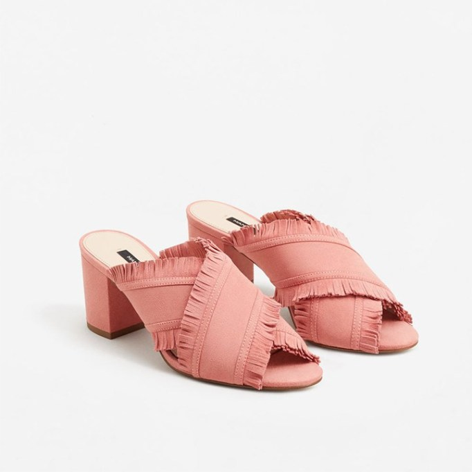 The Best Mule Shoe For Summer 2017: Mango Leather-Wrap Sandals | Summer 2017 Accessories