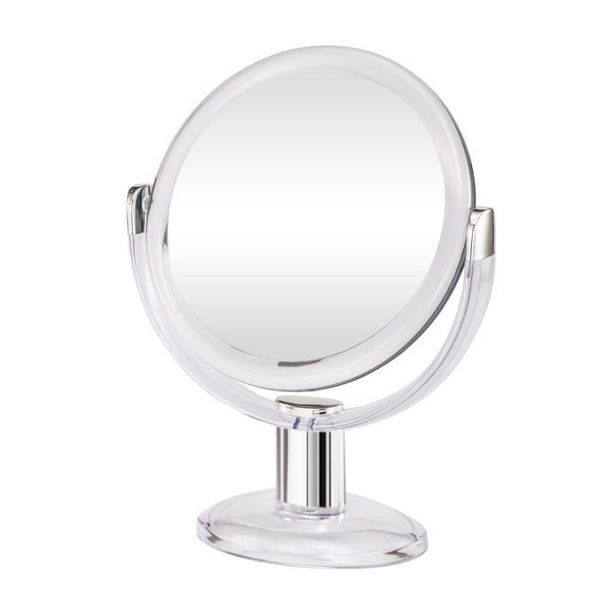 Gotofine double-sided magnifying makeup mirror