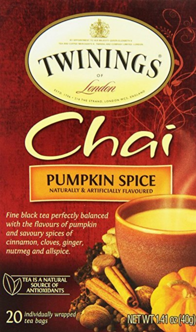 Fall Foods Amazon Will Deliver Right to Your Door: chai pumpkin spice tea