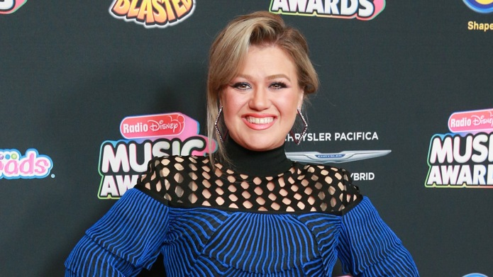 Kelly Clarkson at Radio Disney Music