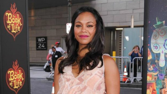 Zoe Saldana empowers women by revealing