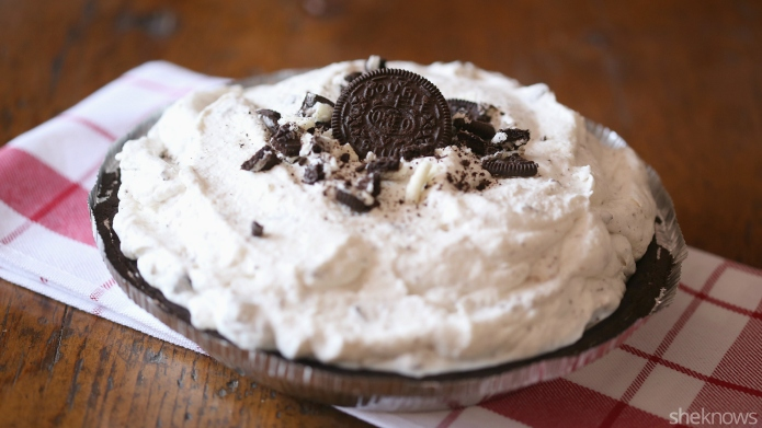 No-bake Oreo cream pie is the