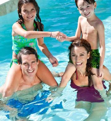 Family fitness during the summer months