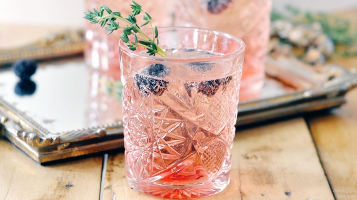 Herb-infused cocktails are our fall obsession