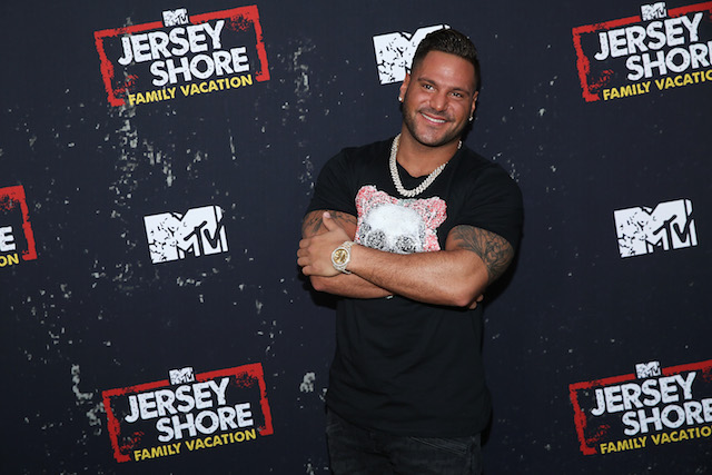 Ronnie Ortiz-Magro attends the 'Jersey Shore Family Vacation' Global Premiere