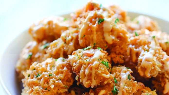 Chungah Rhee's bang-bang chicken sure does
