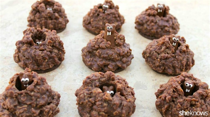 Pop-Up Groundhog Cookies to Celebrate the