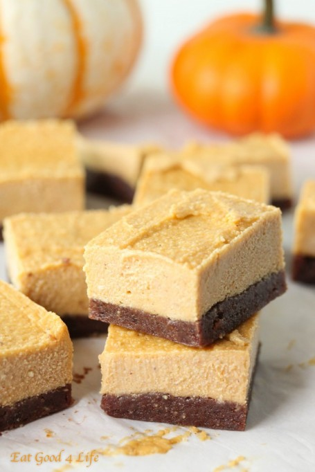 Easy No-Bake Thanksgiving Desserts: Pumpkin Cheesecake