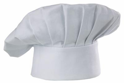 Custom-embroidered chef hats