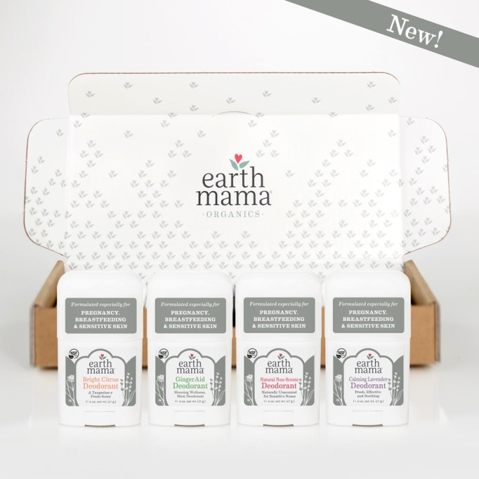 Best Baby Shower Gifts for ANY Baby | Earth Mama Mini Deodorant 4 Pack