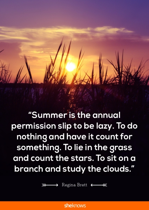 20 sun-kissed quotes about summer and all its sunny glory