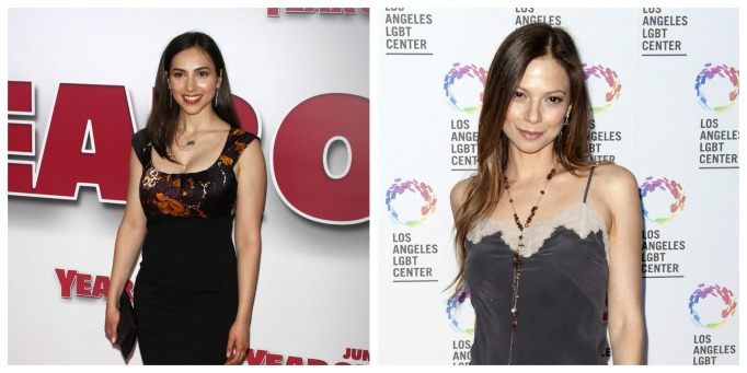 Eden Riegel and Tamara Braun