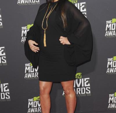 Celeb bump day: Kim Kardashian, Halle