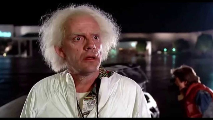 Dr. Brown Back to the Future