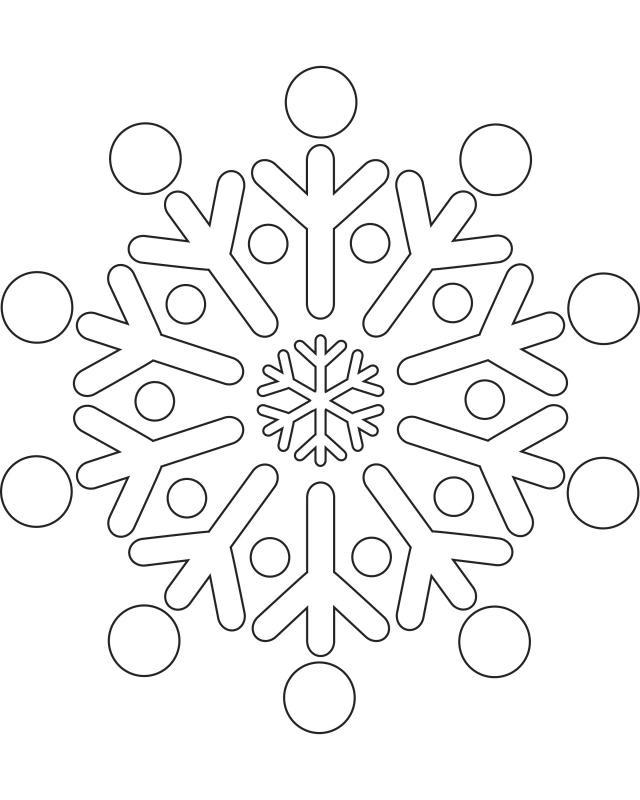 Printable Snowflake Templates to Get You Through Any Snow ...