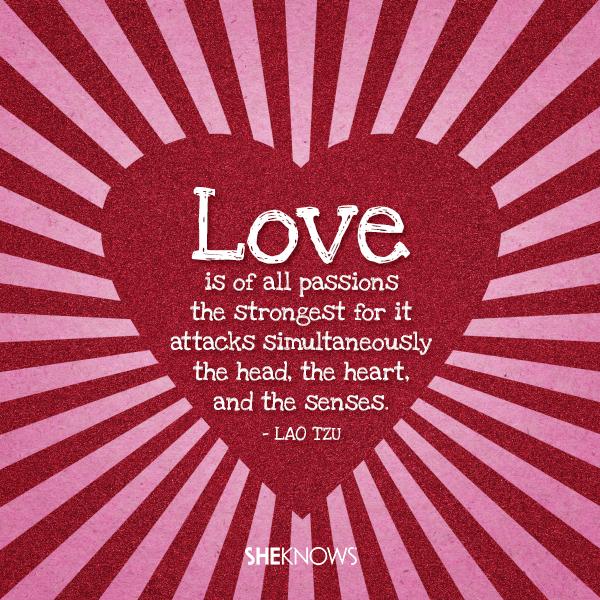 Lao Tzu love quote